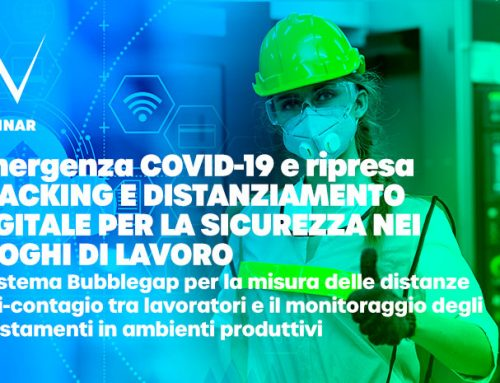 Webinar algoWatt sul sistema Bubblegap per il distanziamento sociale e la sicurezza nei luoghi di lavoro, dopo la ripresa dall'emergenza COVID-19