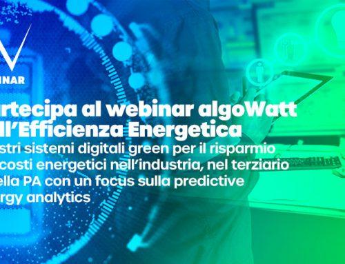 Webinar algoWatt sull'Efficienza Energetica: soluzioni tech e smart per ridurre i consumi