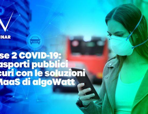 Webinar algoWatt su Covid-19 e Trasporto Pubblico Locale durante la Fase 2: prenotazioni e gestione in sicurezza delle linee