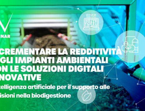 Webinar algoWatt: Incrementare la redditività degli impianti ambientali con le soluzioni digitali innovative