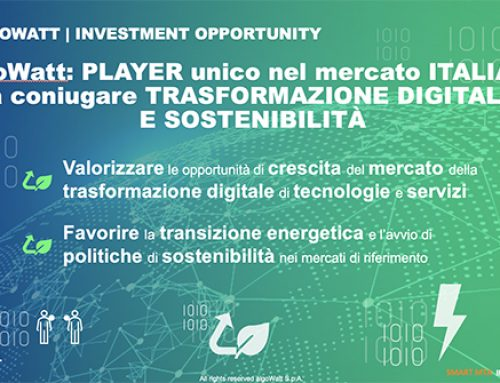 Le strategie di algoWatt presentate allo Smart MTA Investor Day by IR Top Consulting