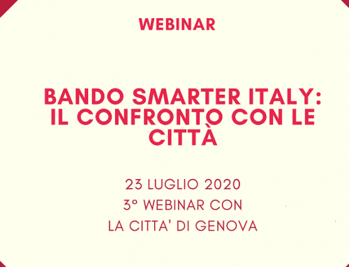 """algoWatt partecipa al webinar """"Bando Smarter Italy: il confronto con le città"""""""
