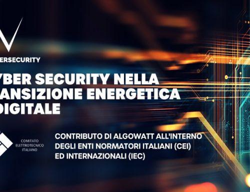 Il contributo di algoWatt al Magazine CEI sulla sicurezza informatica delle reti elettriche