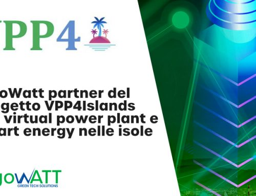 algoWatt partner del progetto VPP4Islands per virtual power plant e smart energy nelle isole