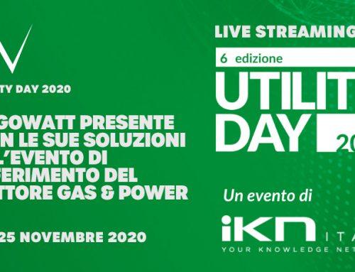 algoWatt partecipa a Utility Day 2020, il 24 e 25 novembre