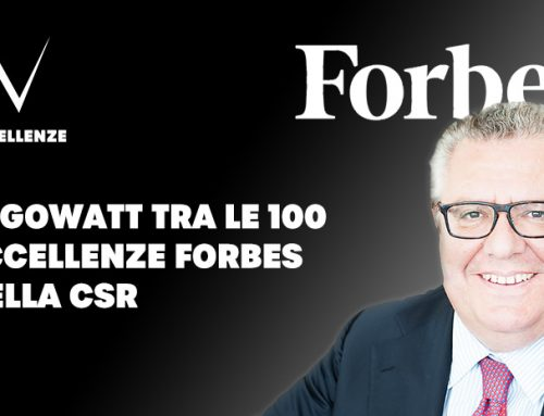 algoWatt among the 100 excellences in Corporate Social Responsibility for Forbes Italy