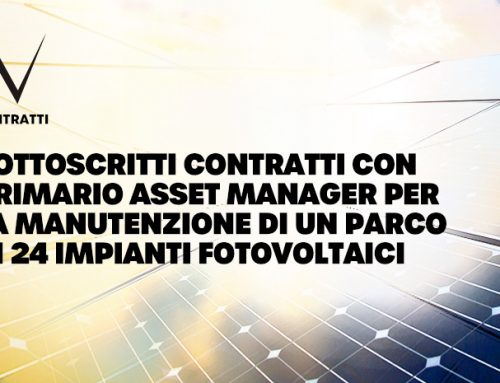 Contracts signed with leading asset manager for the maintenance of 24 photovoltaic plants