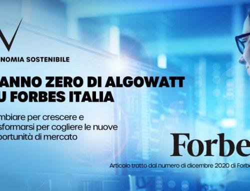 Il turnaround di algoWatt nell'ultimo numero di Forbes Italia