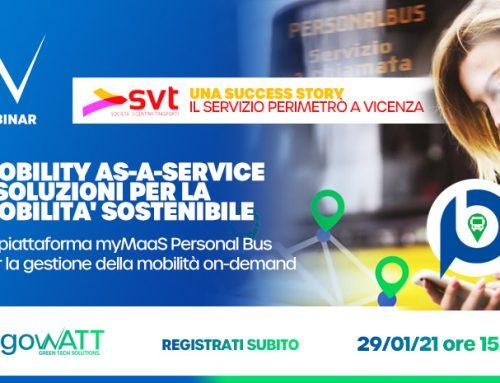 Webinar algoWatt: Mobility as-a-service e soluzioni per la mobilità sostenibile