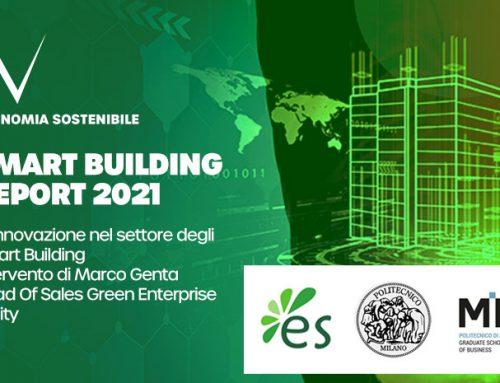 Innovazione ed edilizia intelligente: algoWatt interviene alla presentazione dello Smart Building Report