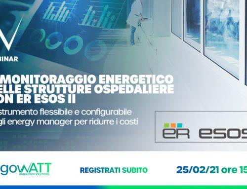 Webinar algoWatt – Il monitoraggio energetico nelle strutture ospedaliere con ER ESOS II