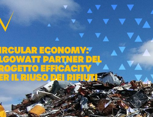 Circular economy: algoWatt partner in the Efficacity project for efficient waste collection and reuse