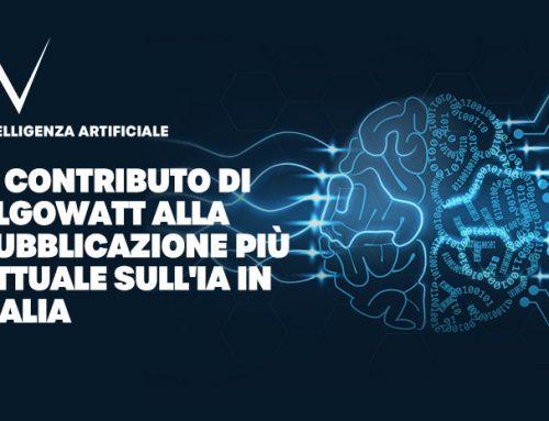 Il contributo di algoWatt alla pubblicazione più attuale sull'Intelligenza Artificiale in Italia