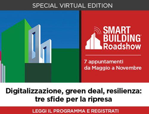 """Smart Building: algoWatt parteciperà al Road Show """"Digitalizzazione, green deal, resilienza: tre sfide per la ripresa"""""""