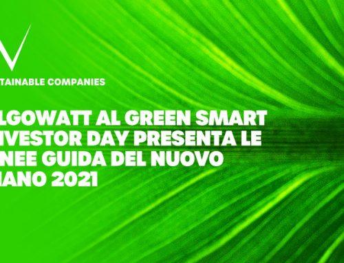 Smart Green Investor Day: algoWatt presenta le Linee Guida del nuovo piano 2021