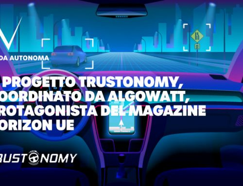 Guida autonoma: il progetto Trustonomy coordinato da algoWatt è protagonista del magazine Horizon EU