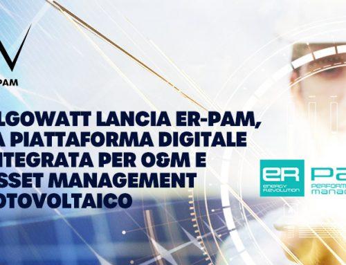 algoWatt lancia ER-PAM, la piattaforma digitale integrata per O&M e asset management fotovoltaico
