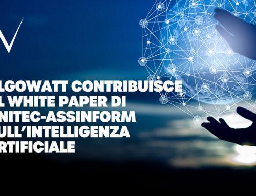 algoWatt contribuisce al White Paper di Anitec-Assinform sull'Intelligenza Artificiale
