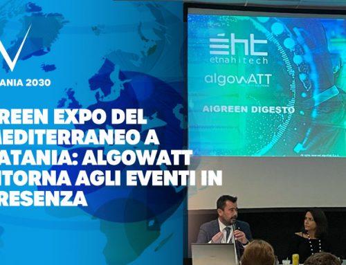 Green Expo del Mediterraneo a Catania: algoWatt ritorna agli eventi in presenza