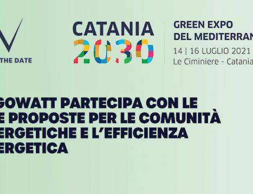 algoWatt al Catania 2030 – Green Expo del Mediterraneo con comunità energetiche ed energy saving