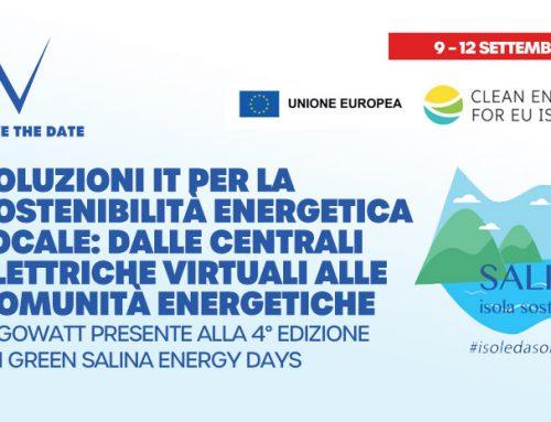 algoWatt protagonista a Salina della quarta edizione dei Green Energy Days