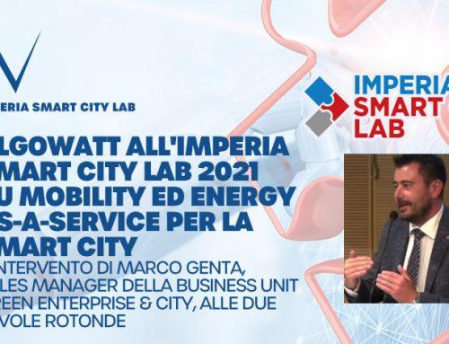 Imperia Smart City Lab: algoWatt su Mobility ed Energy-as-a-Service per la Smart City